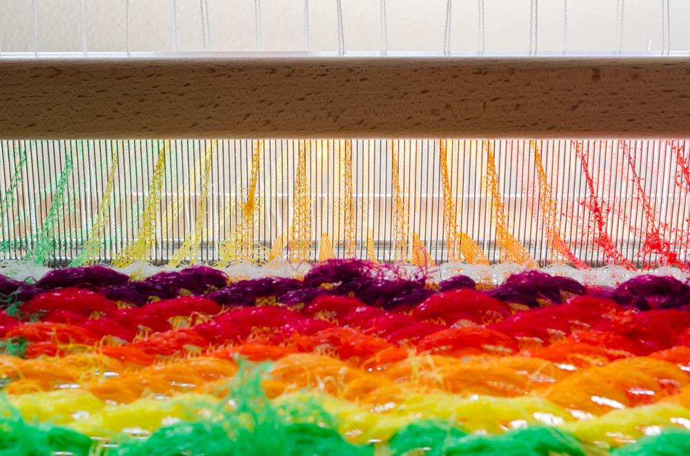 plastic netjes en keperbinding