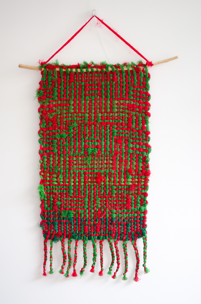plastic netjes wandkleden schijnpatroon