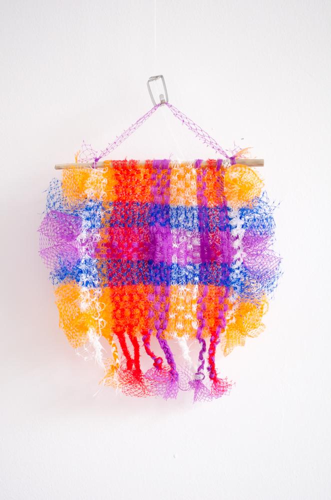 plastic netjes wandkleden mini versie